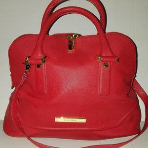 Ivanka Trump Ava Dome Satchel Purse Pocketbook Bag